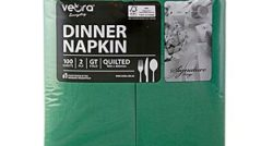 22510F_Veora_Everyday_Signature_Dinner_Quilted_Napkins_Green_100's_2Ply