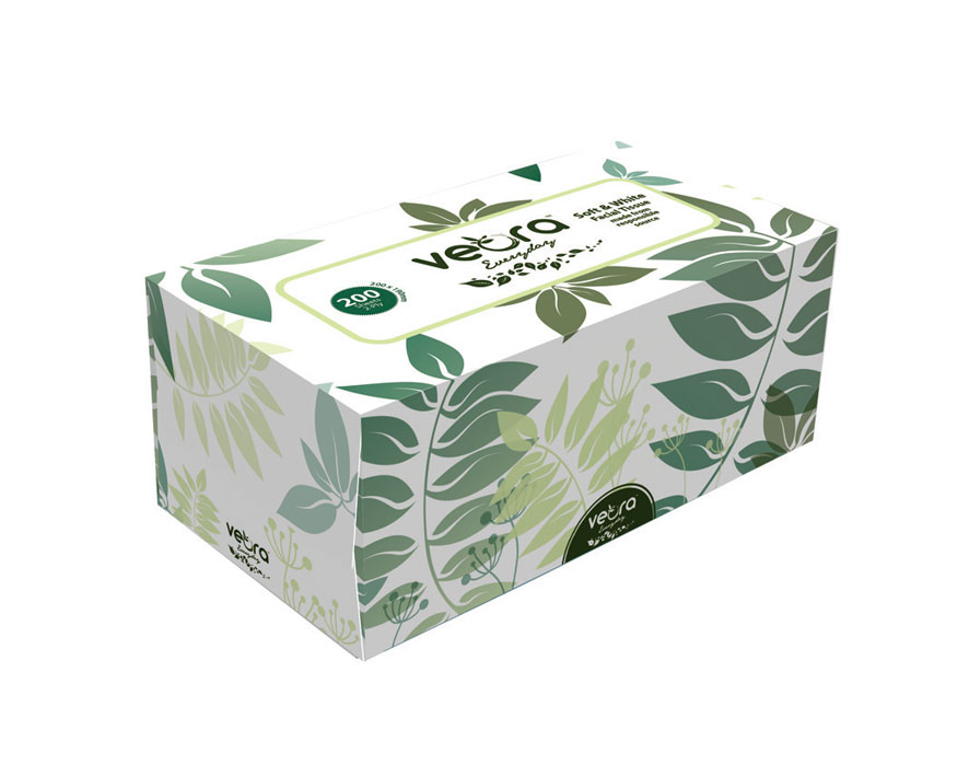 22202F-Veora-Everyday-Facial-Tissue-200's-2-Ply